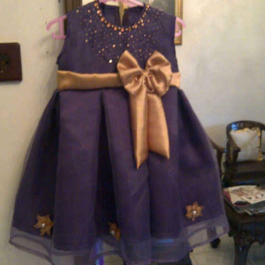 Baju Pesta Anak Perempuan Princess Usia 4 Tahun Jual