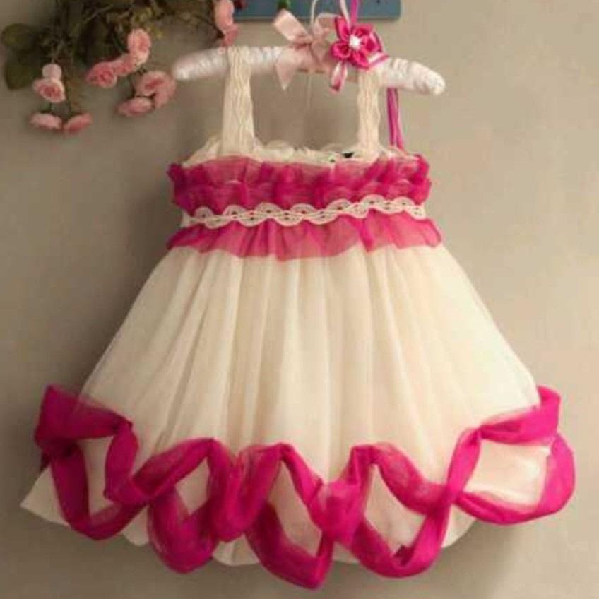 dress pesta anak model korea
